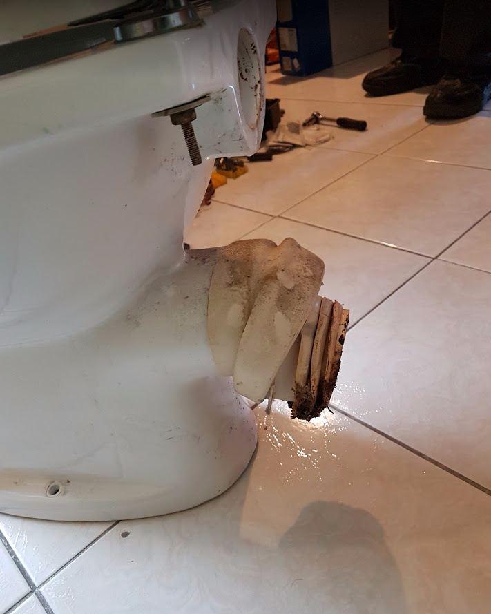 WC csésze csere