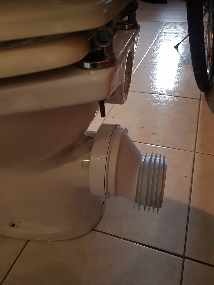 WC csésze szerelés