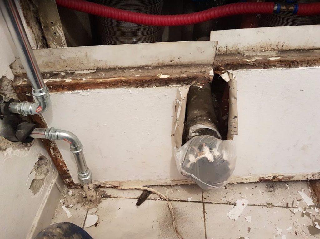 Lakásfelújítás - vízvezeték szerelés