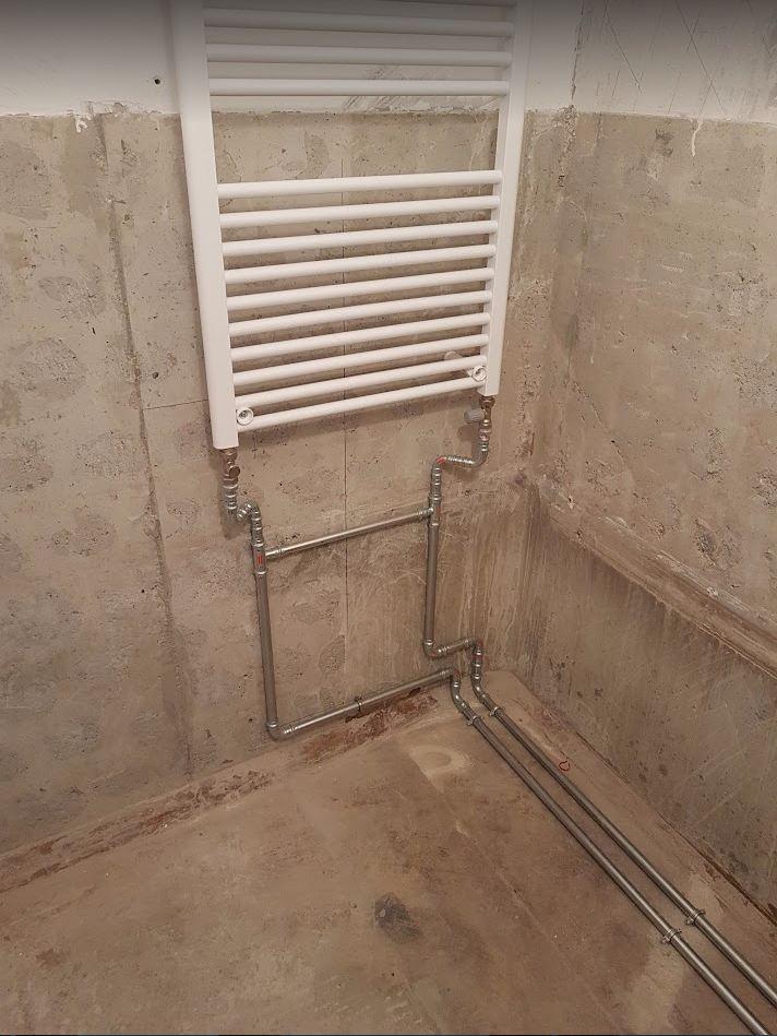 Lakásfelújítás - fűtésszerelés