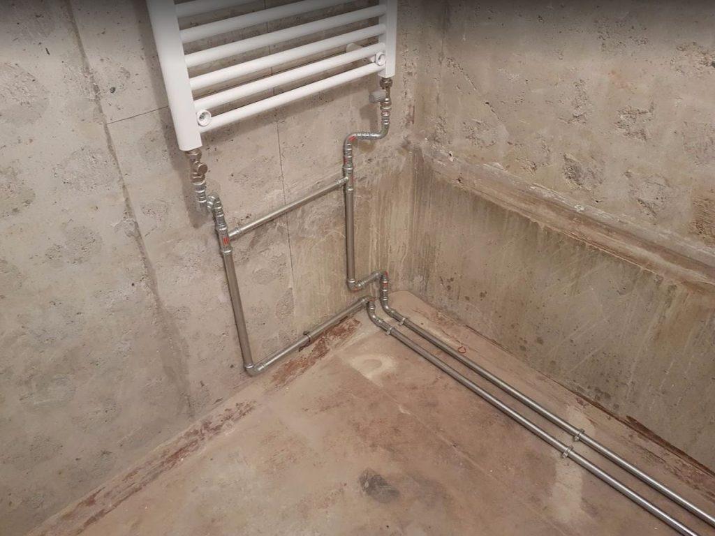 Lakásfelújítás - vízvezeték szerelése