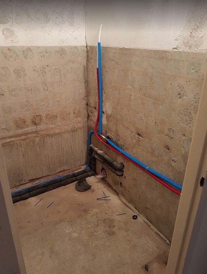 Lakásfelújítás - vízvezeték csere