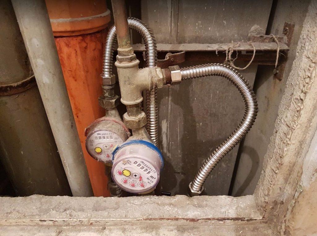 Vízszerelés - Flexibilis cső kiváltása